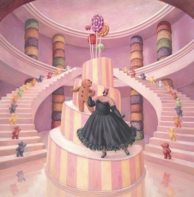 The Merry Widow (Canvas)