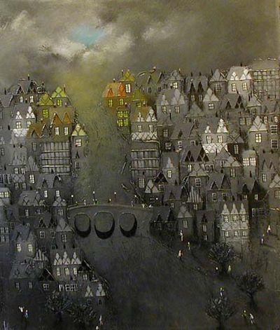 Grey Inns - Canvas