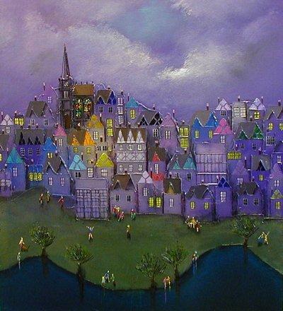 Lavender Hill Mob - Canvas