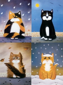 The Weather Fourcats (Set of 4)