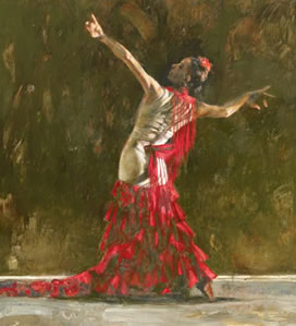 El Baile De Pasion (Dance Of Passion)(canvas)
