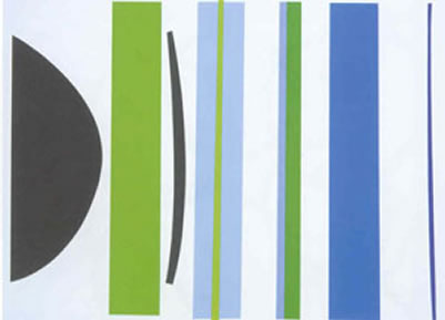 Blue And Green Verticals
