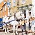 old: The Sole Bay Inn, Southwold - Sam, the Adnams Dray Horse