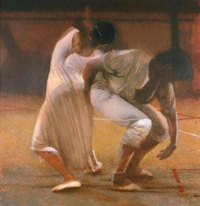 Dancers In White