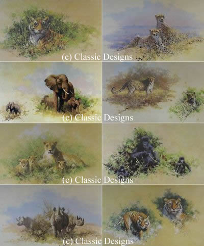 Wildlife Of The World Portfolio (Set of 8)