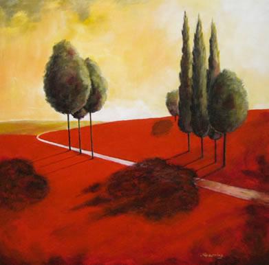 Golden Landscape I