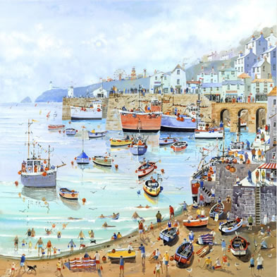 Harbour Fun by Nick Potter