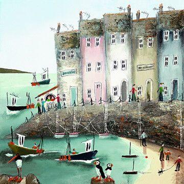 Seaside Stories II (Canvas)