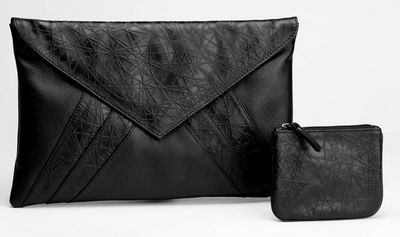 Spooks - Leather Clutch Bag & Purse