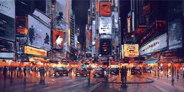 Midnight Manhattan