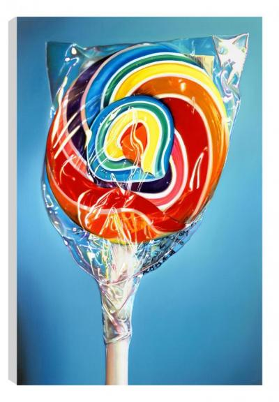 Still Life - Rainbow Swirl (Canvas)