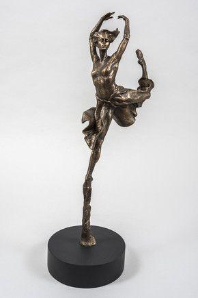 Leap Of Faith (Cold Cast Bronze Resin)