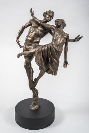 Dancing The Dream Cold Cast Bronze Resin