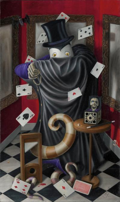 Mysterious Count Carpathian Von Porl