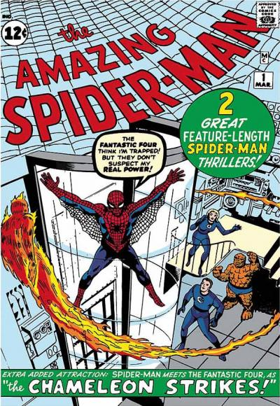 The Amazing Spider-Man #1 - Spider-Man Meets The Fantastic Four