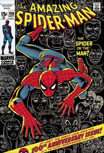 The Amazing Spider-Man #100 - The Spider Or The Man?