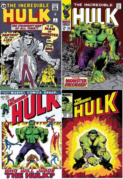 The Incredible Hulk Portfolio - Canvas