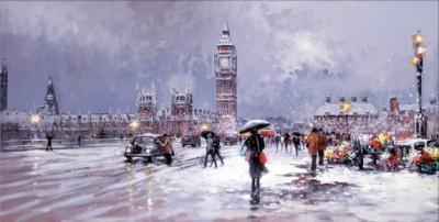 Westminster In Winter