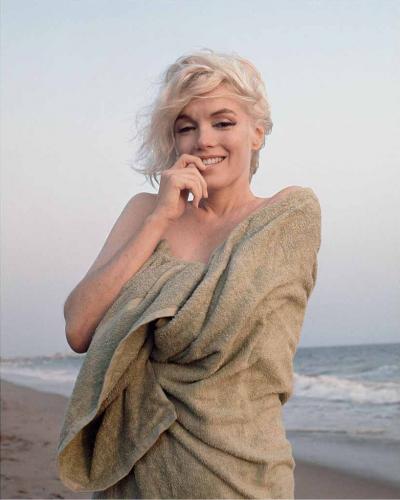 Beach Towel, Santa Monica Beach, 1962