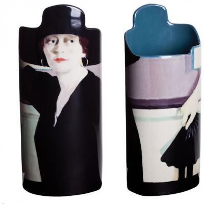 Cadell Lady in Black - Vase