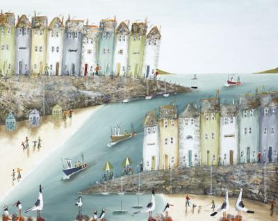 Rock The Boats - Box Canvas