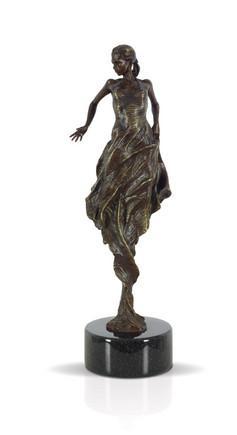 Flamenco Dancer Bronze