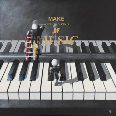 Make Your Own Music - 3D High Gloss