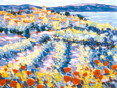 Poppies & Vines Provence
