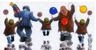 Lollipops and 99s - Large by Alexander Millar