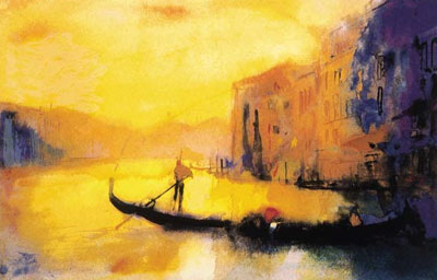 Dusk - Venice