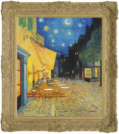 Starry Night With Cafe Terrace, Place Du Forum