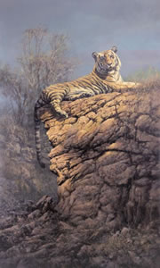 Majestic Pose - Tiger (Canvas)