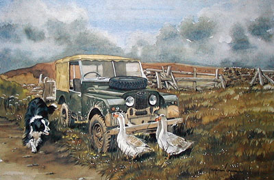 Work 'N' Play - Landrover by Graham Chambers