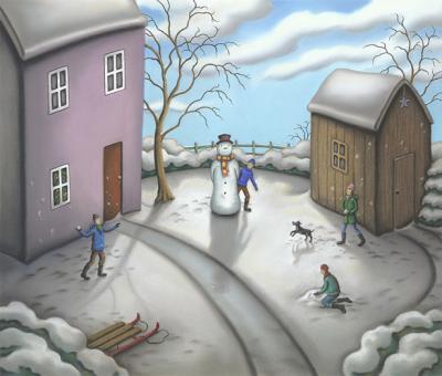 A Snowman's Story