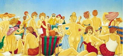 Beach Bums by Joan Somerville