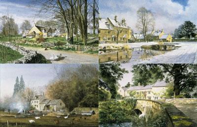 Cotswolds - Four Seasons Portfolio (Set of 4) by Alan Ingham