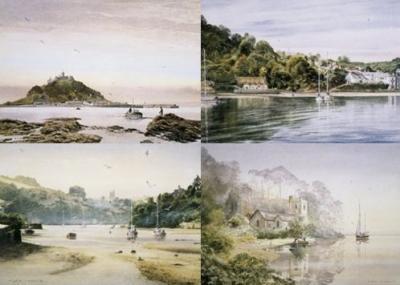 South West Portfolio (Set of 4) by Alan Ingham