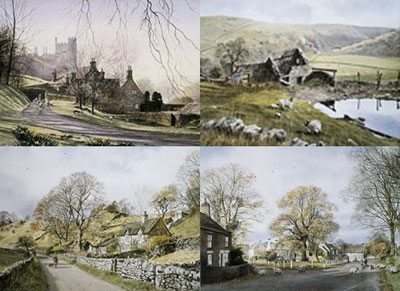 Peak District Portfolio (Set of 4) by Alan Ingham