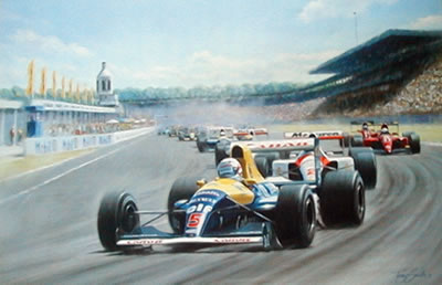 Off To Victory - Nigel Mansell