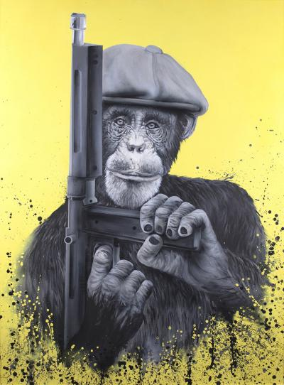 Peaky Primate by The Mad Artist