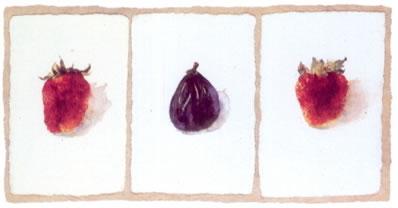 Fig & Strawberries