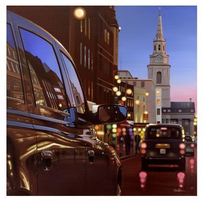 London Dusk Reflections