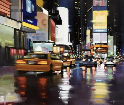 New York City Motion - Canvas