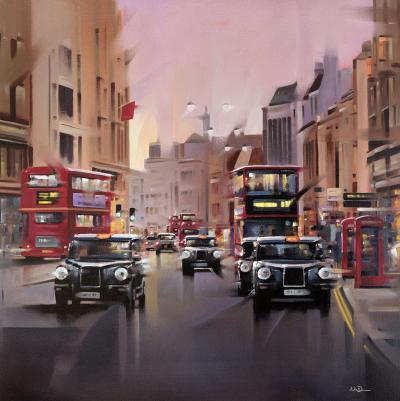 City Streets - Canvas