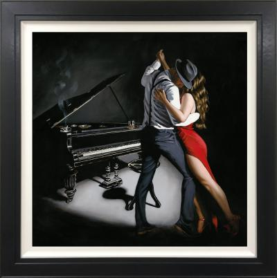 My Heart is Still Dancing- Canvas by Richard Blunt