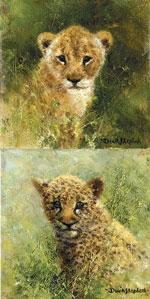 Lion & Leopard Cubs - Mini Collection