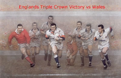 A Call To Arms - Triple Crown - England win vs Wales