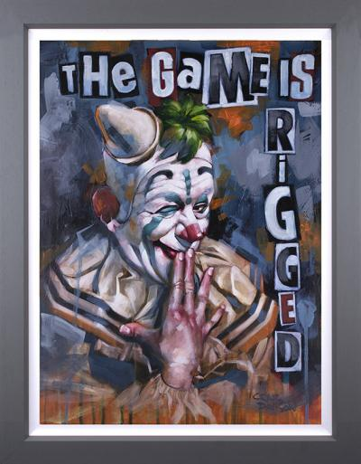 The Game is Rigged- Canvas Deluxe