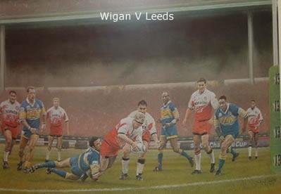 Wembley Warriors - Wigan vs Leeds