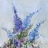 Summer Blooms (Blue) by Derek Brown